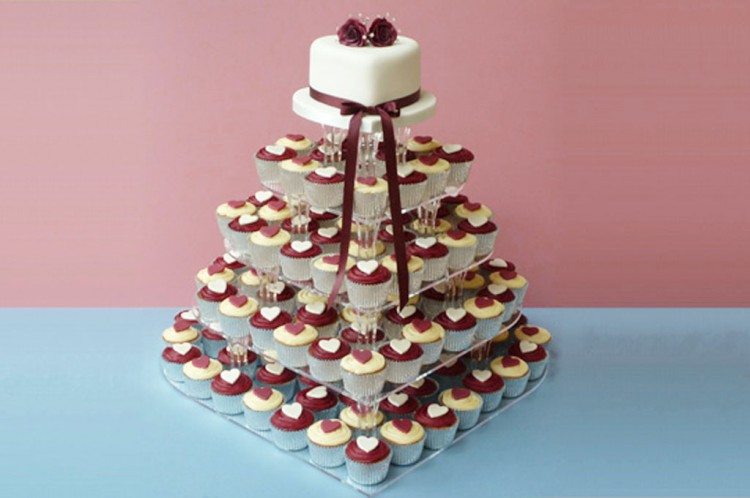 Cupcake Wedding Cakes Ideas Picture in Wedding Cake