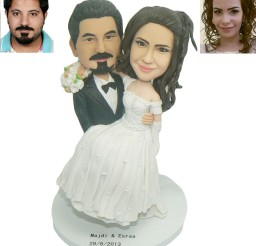 1024x1129px Custom Cake Toppers For Wedding Cakes Picture in Wedding Cake