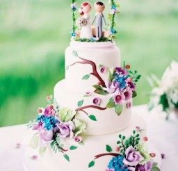 1024x1396px Cute Whimsical Wedding Cake Picture in Wedding Cake