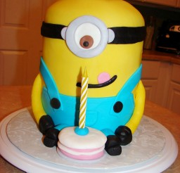 1024x1365px Cute Minion Birthday Cakes Picture in Birthday Cake