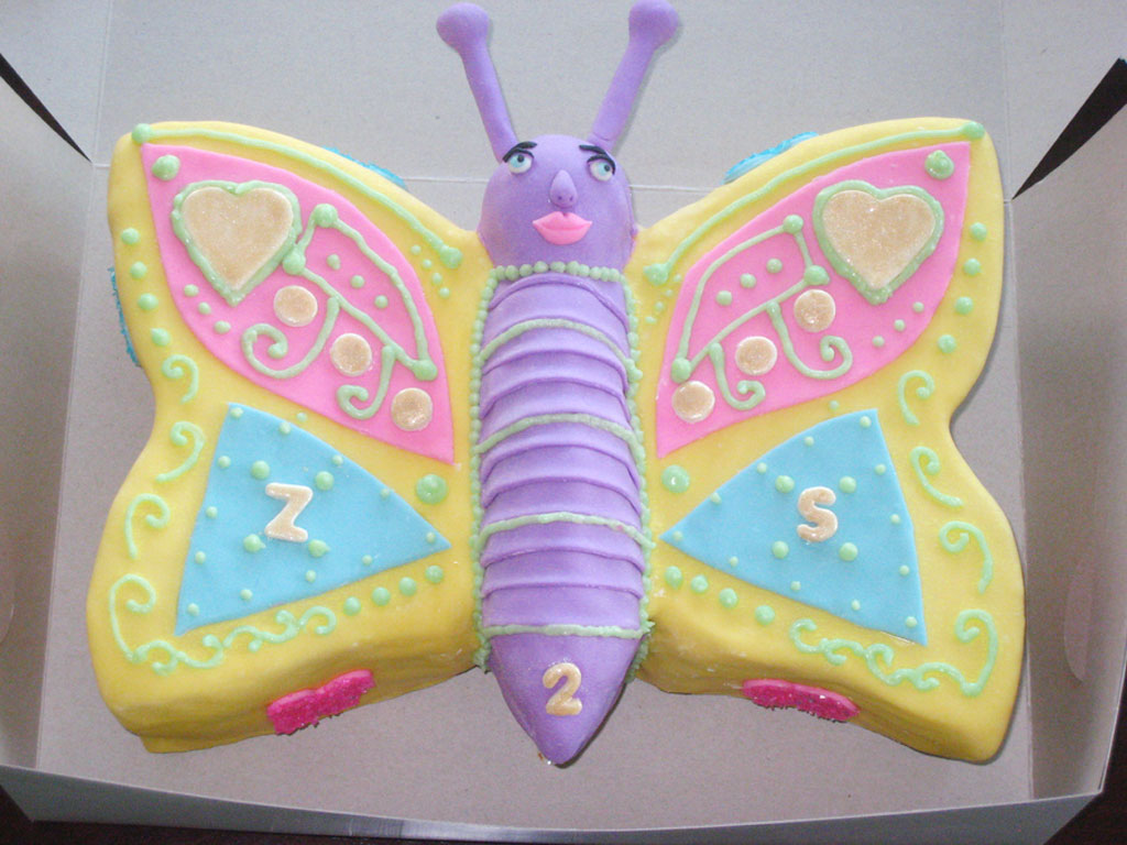 Easy Butterfly Cake Designs