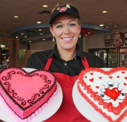 1024x709px Dairy Queen Valentine Cakes Idea Picture in Valentine Cakes