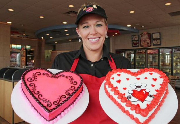Dairy Queen Valentine Cakes Idea Picture in Valentine Cakes