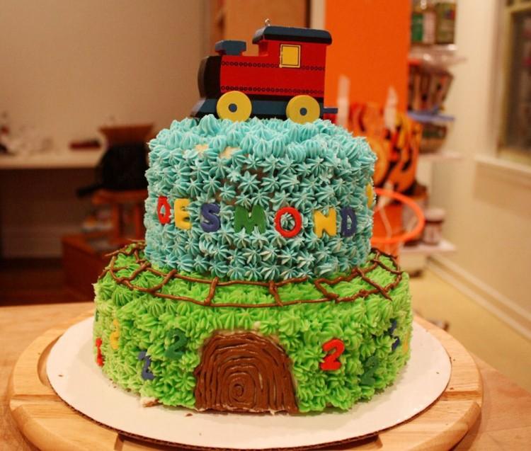 Desmonds Train Kroger Birthday Cakes Picture in Birthday Cake