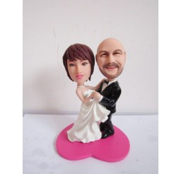 1024x1024px Dirty Dancing Wedding Cake Topper Picture in Wedding Cake