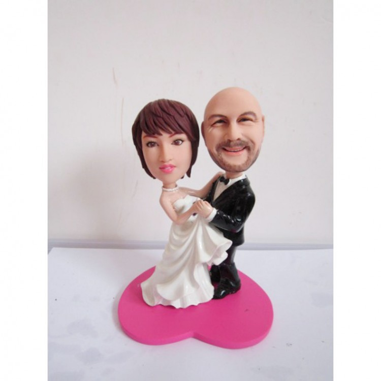 Dirty Dancing Wedding Cake Topper Picture in Wedding Cake