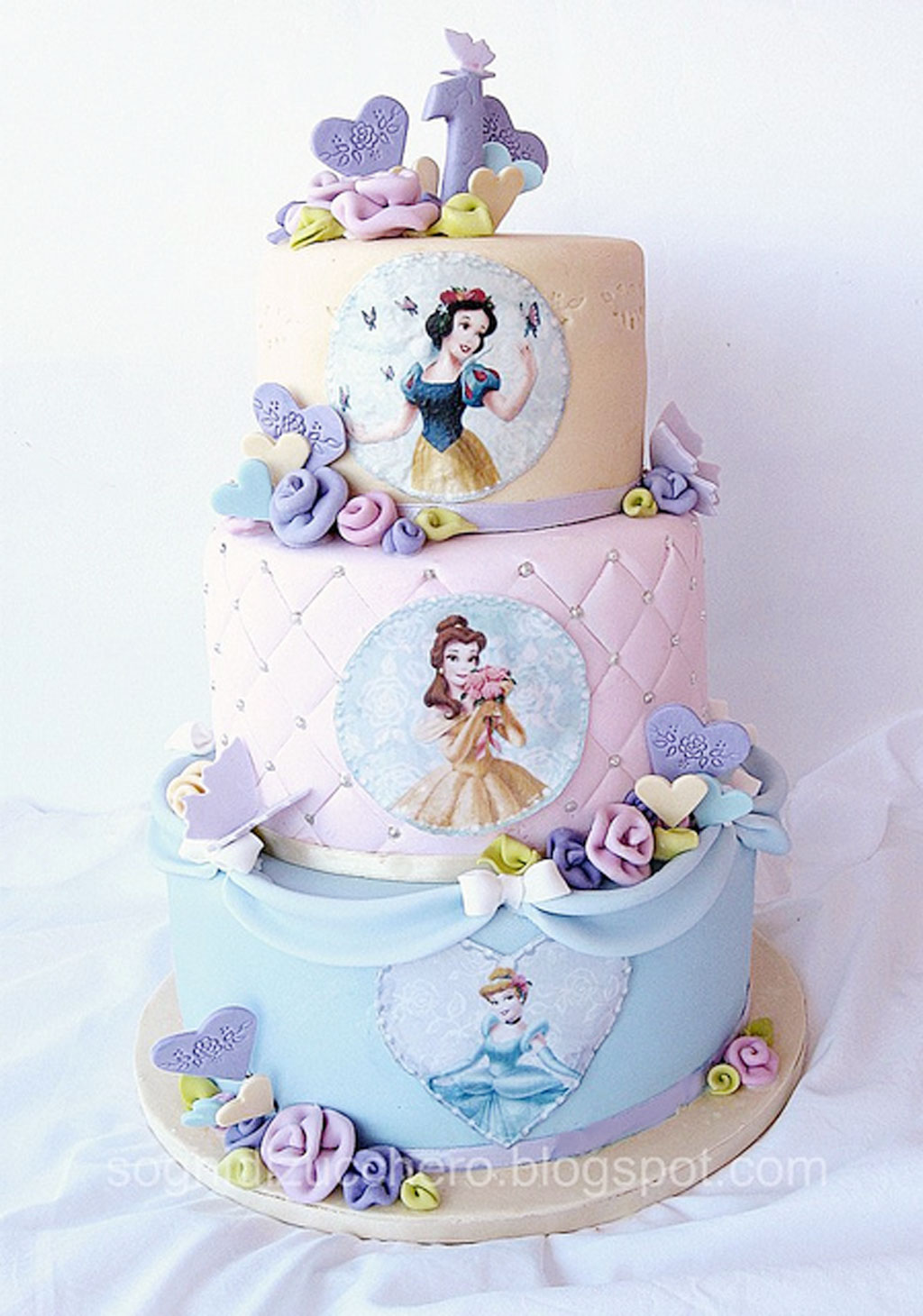 Disney Princess Birthday Cake Birthday Cake