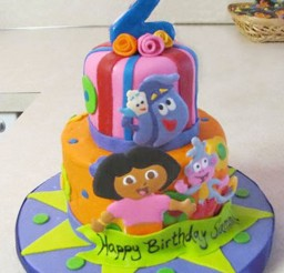 1024x1377px Dora Birthday Cake Designs Picture in Birthday Cake