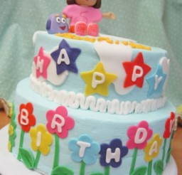 1024x1364px Dora Birthday Cake Ideas Picture in Birthday Cake