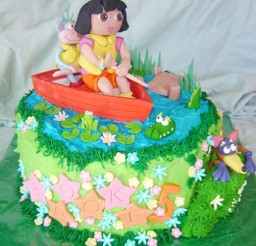 1024x1107px Dora Birthday Cupcakes Ideas Picture in Birthday Cake