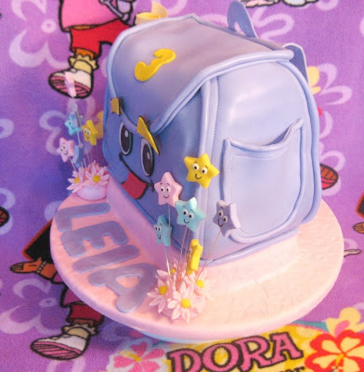 Dora Birthday Party Cake Ideas Picture in Wedding Cake