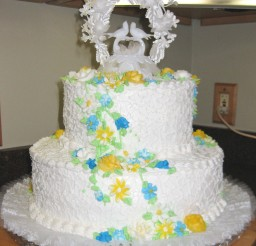 1024x1221px Double Layer Wedding Cake Pic 3 Picture in Wedding Cake