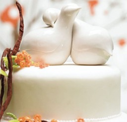 1024x986px Dove Wedding Cake Toppers Picture in Wedding Cake