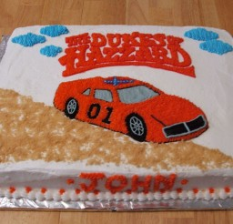 1024x768px Dukes Hazzard Birthday Cakes Picture in Birthday Cake