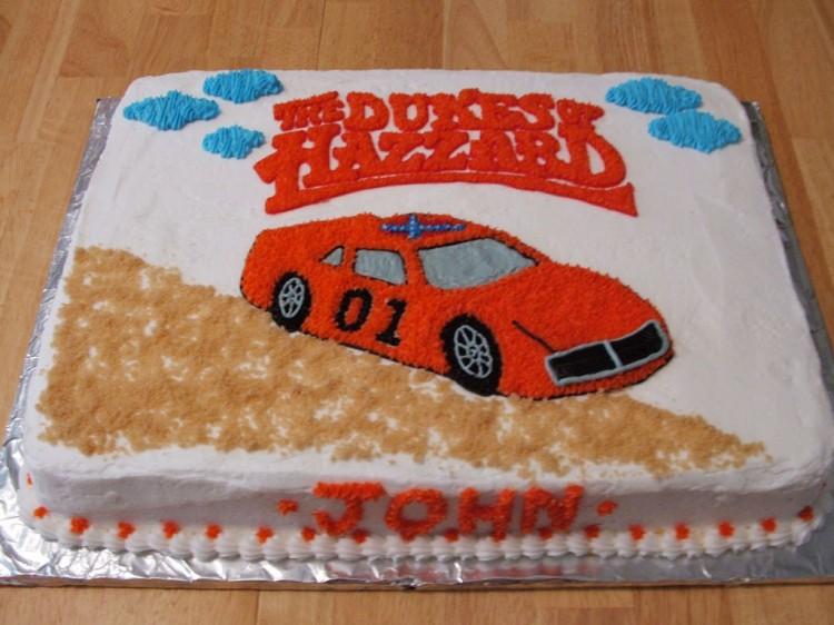 Dukes Hazzard Birthday Cakes Picture in Birthday Cake