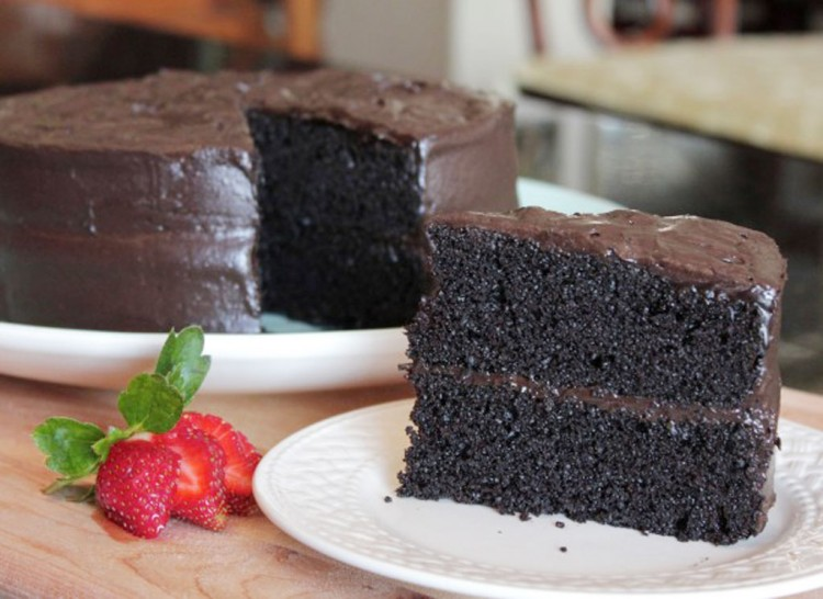 Easiest Most Delicious Chocolate Cake Picture in Chocolate Cake
