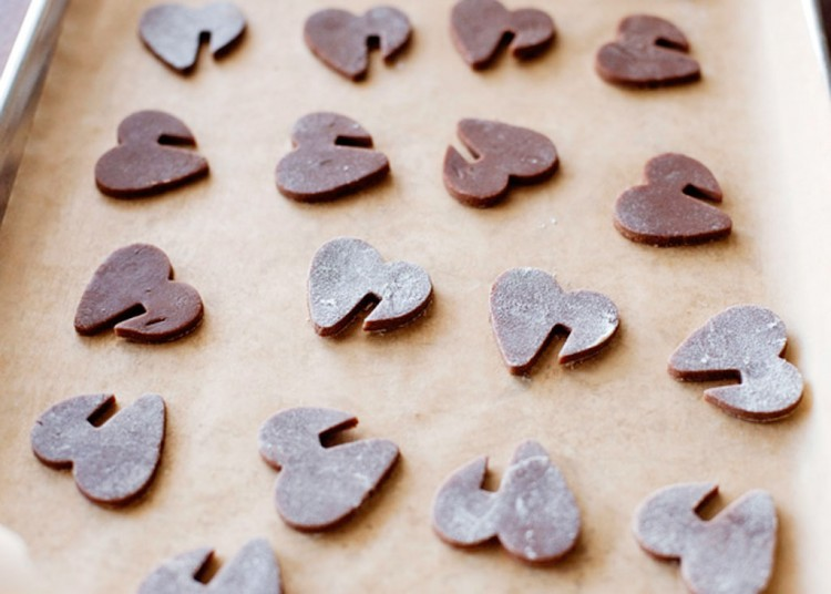 Easy Chocolate Cutout Cookies Picture in Chocolate Cake