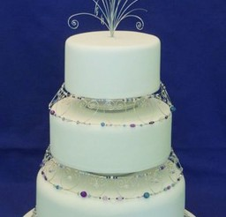 1024x1772px Elegant Wedding Cake Jewelry Picture in Wedding Cake