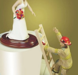 1024x1386px Firefighter Cake Toppers For Wedding Cakes Picture in Wedding Cake
