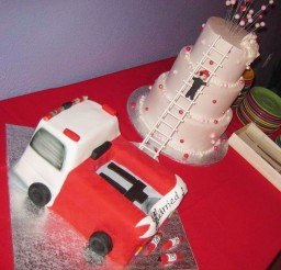 1024x1065px Firefighter Wedding Cakes Ideas Picture in Wedding Cake