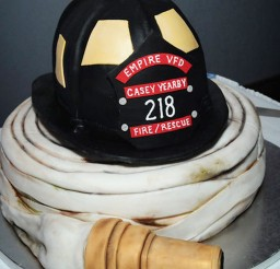 1024x1433px Fireman Wedding Cakes Picture in Wedding Cake