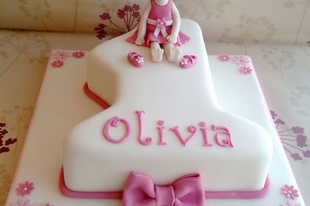 First Birthday Cake Girl Birthday Cake Cake Ideas by Prayfacenet