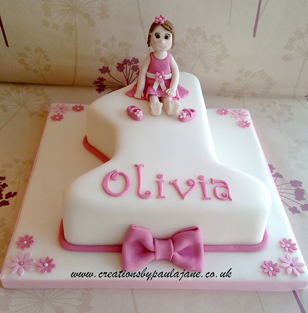 First Birthday Cake Girl Birthday Cake Cake Ideas By Prayface