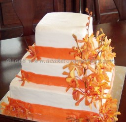 1024x1535px Fresh Flowers Wedding Cakes Richmond Va Picture in Wedding Cake