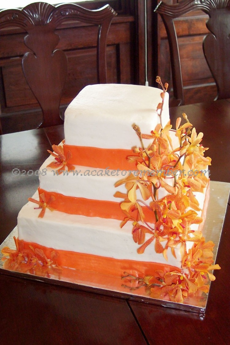 Fresh Flowers Wedding Cakes Richmond Va Picture in Wedding Cake
