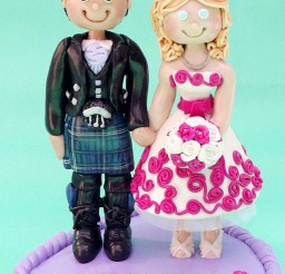 1024x1469px Funny Scottish Wedding Cake Topper Picture in Wedding Cake