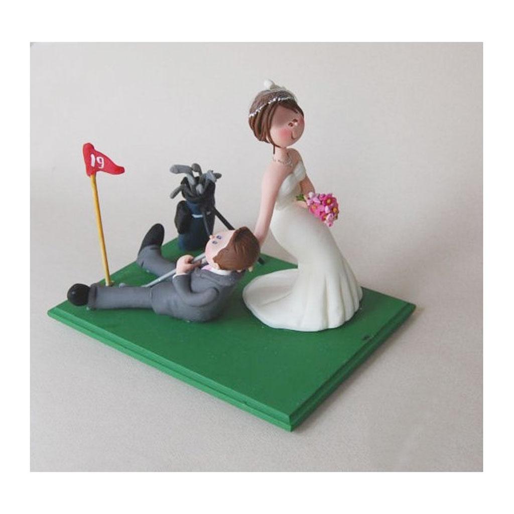 Golf Wedding Cake Ideas