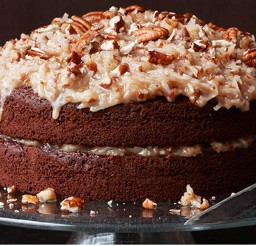 1024x720px German Chocolate Cake One Layer Picture in Chocolate Cake