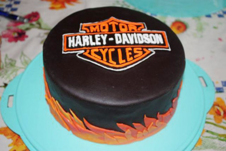Harley Davidson Birthday Cakes Picture Picture in Birthday Cake