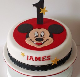 1024x1029px Homemade Mickey Birthday Cake Picture in Birthday Cake