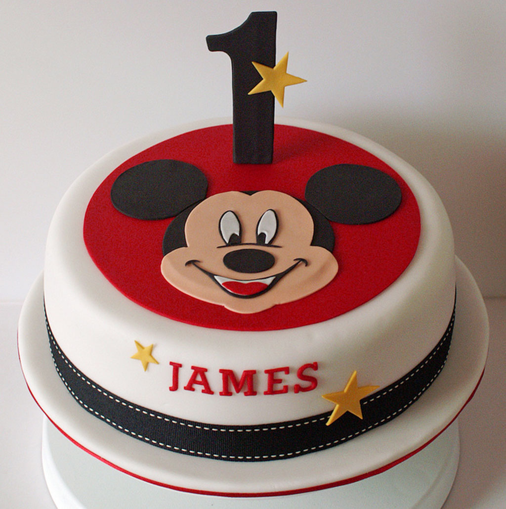Homemade Mickey Birthday Cake Birthday Cake Cake Ideas by Prayfacenet