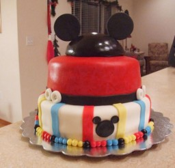 1024x768px Homemade Mickey Mouse Birthday Cakes Ideas Picture in Birthday Cake