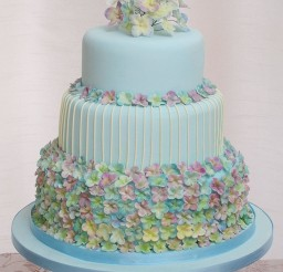 1024x1298px Hydrangea Wedding Cake Flowers Picture in Wedding Cake
