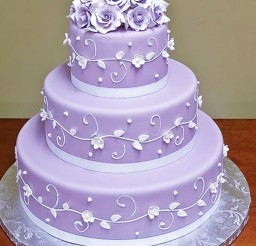 1024x1304px Lavender Wedding Cakes Picture in Wedding Cake