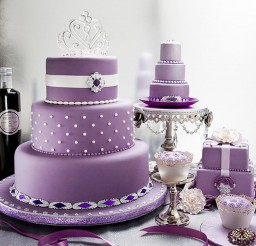 1024x885px Lavender Wedding Cakes Idea Picture in Wedding Cake