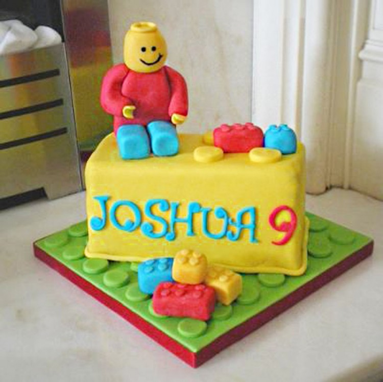 Lego Birthday Cake Ideas For Boys Picture in Birthday Cake