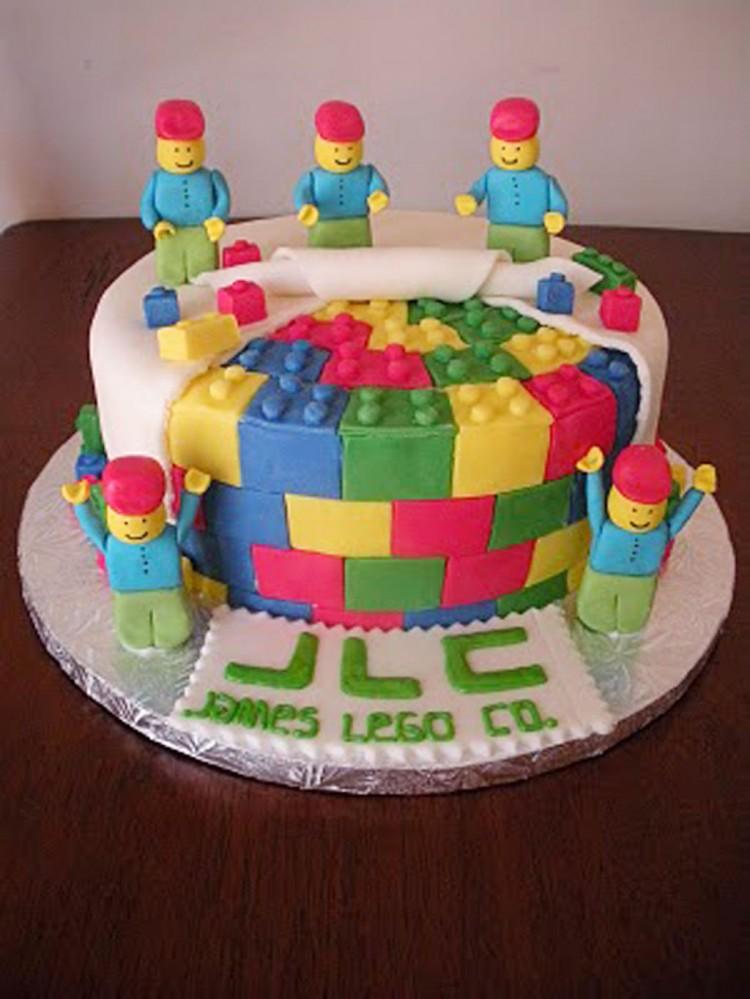 Lego Birthday Cake Ideas Uk Picture in Birthday Cake