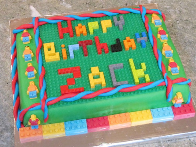 Lego Birthday Party Ideas For Boys Picture in Birthday Cake