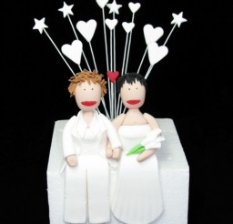 1024x1364px Lesbian Wedding Cake Toppers Picture in Wedding Cake