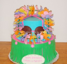 1024x1309px Lets Hula Birthday Cake Picture in Birthday Cake