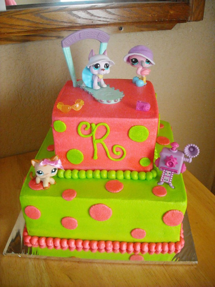 Little Pets Birthday Cakes Ideas Picture in Birthday Cake