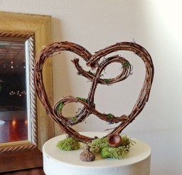 1024x1001px Love Rustic Wedding Cake Topper Picture in Wedding Cake