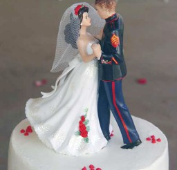 1024x1364px Marine Corps Wedding Cake Toppers Picture in Wedding Cake