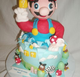 1024x1365px Mario Bros Birthday Cakes Ideas Picture in Birthday Cake