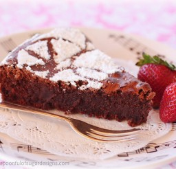 1024x808px Martha Stewart Flourless Chocolate Almond Cake Picture in Chocolate Cake