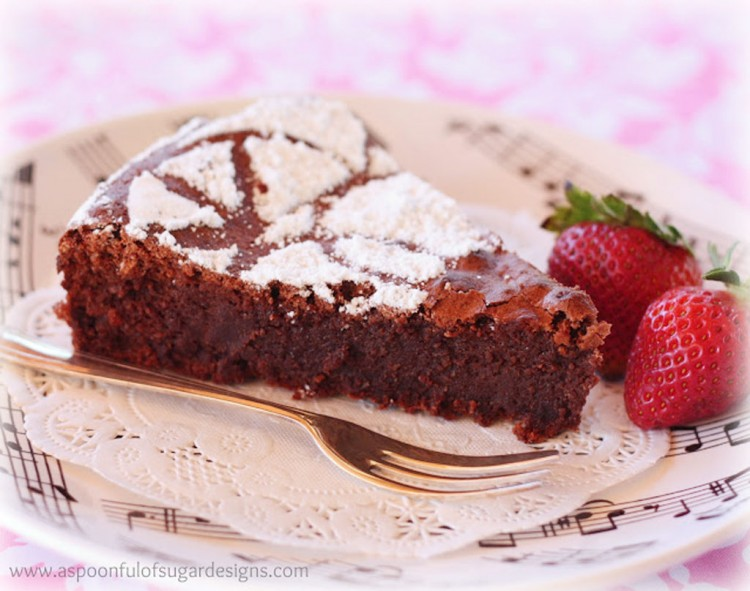 Martha Stewart Flourless Chocolate Almond Cake Picture in Chocolate Cake